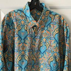 Men's Paisley Casual Shirt